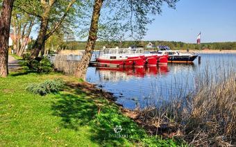 Nad jeziorem Roblinsee. Brandenburgia