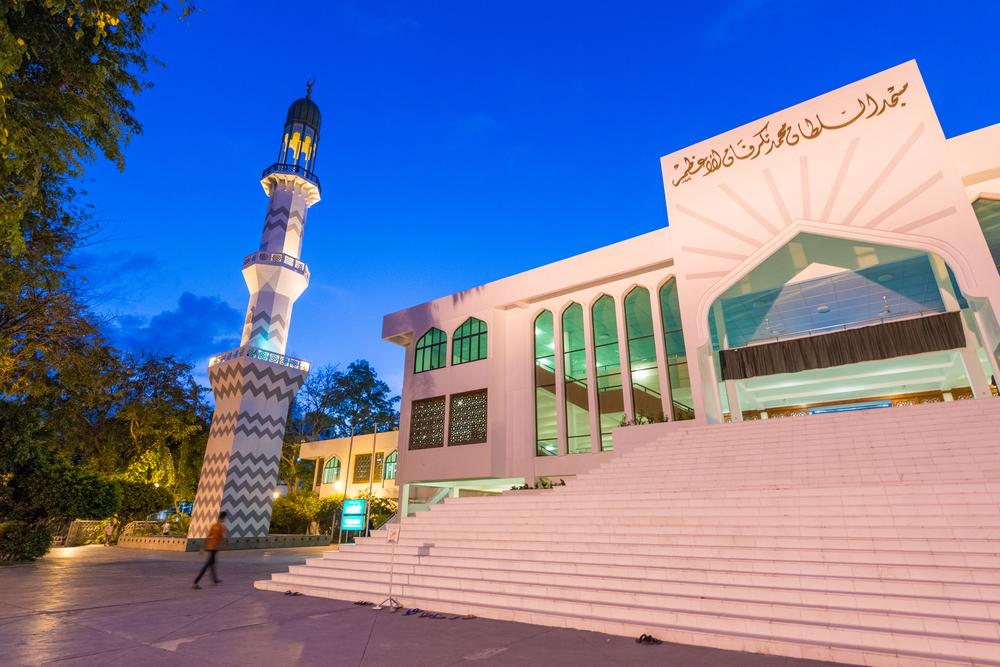 Malediwy - meczet w Male