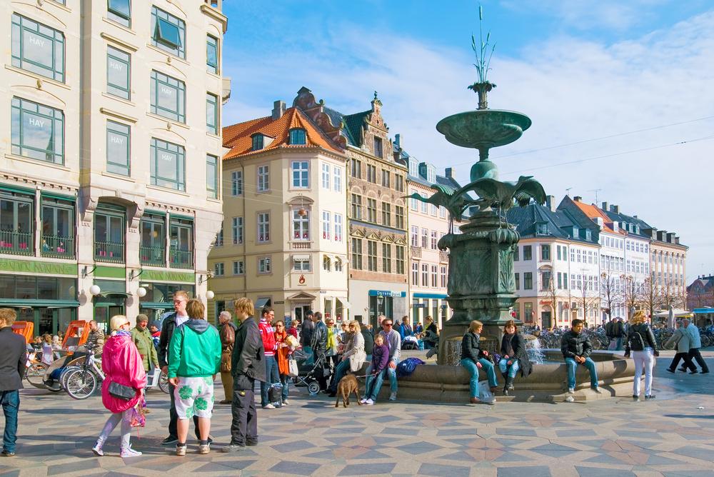 Kopenhaga - Stroget