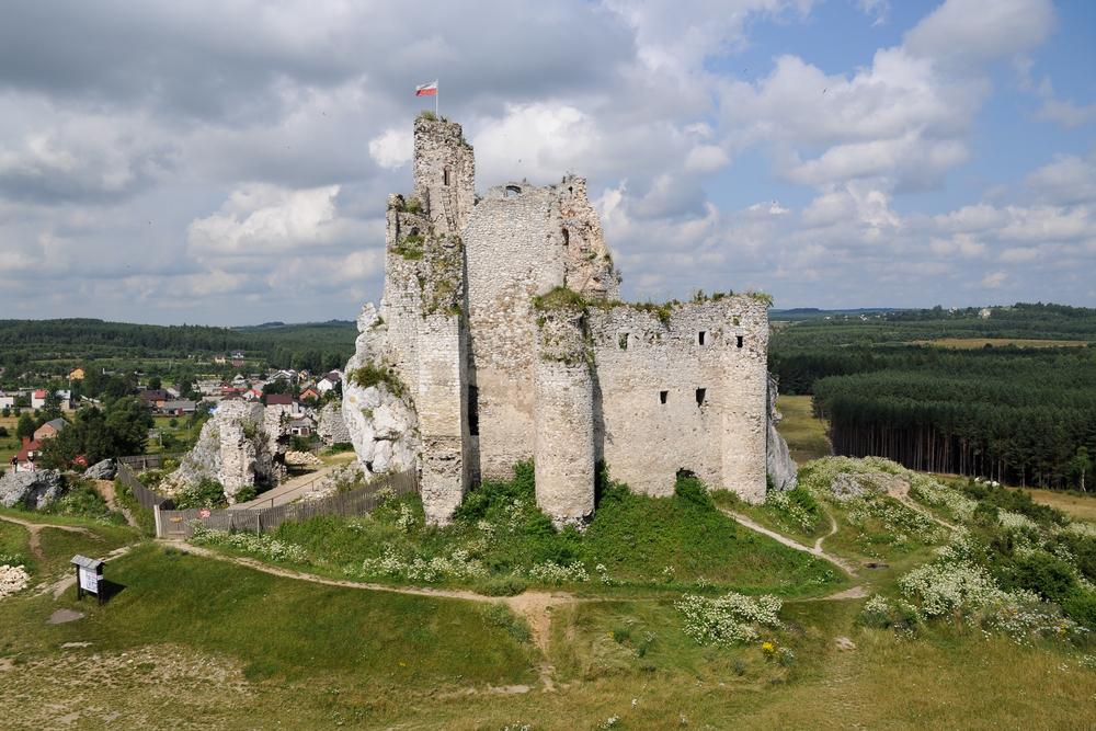 szlak orlich gniazd, zamki w polsce, zamek w Mirowie