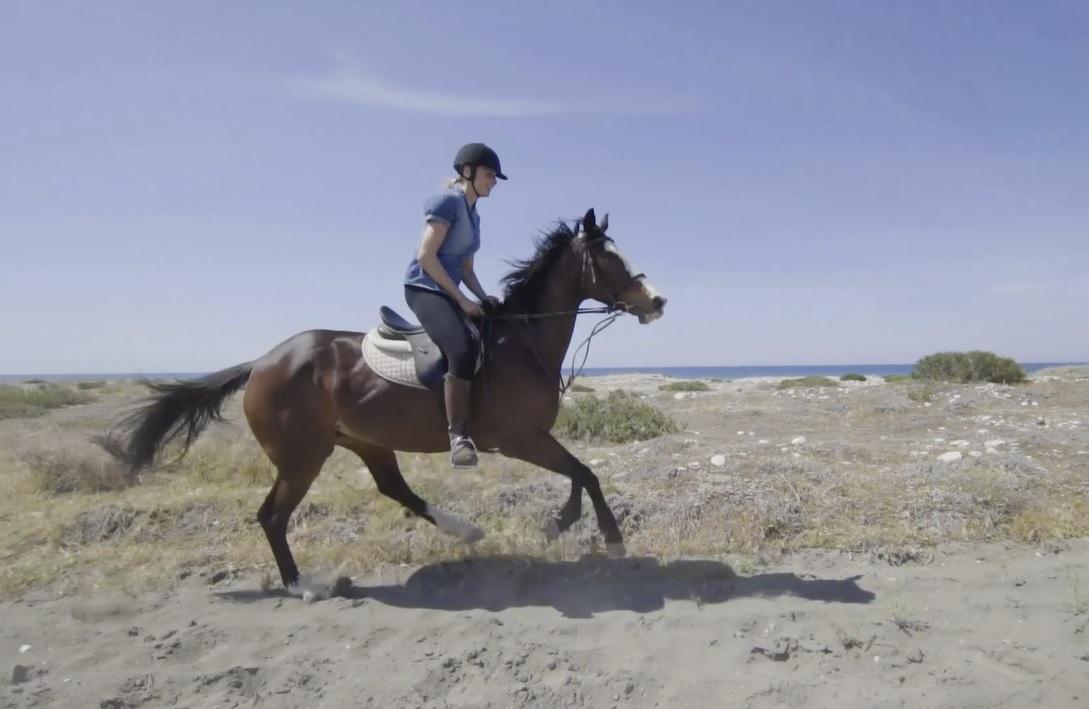 Marysia na koniu
