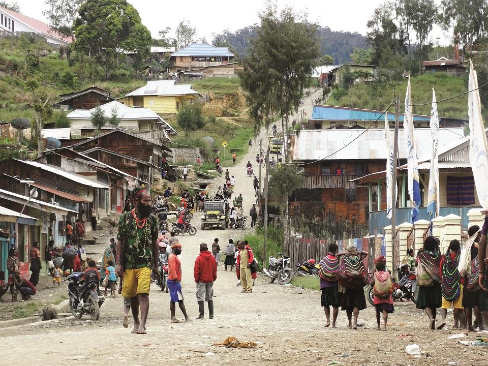 Główna (i właściwie jedyna) ulica Sugapy